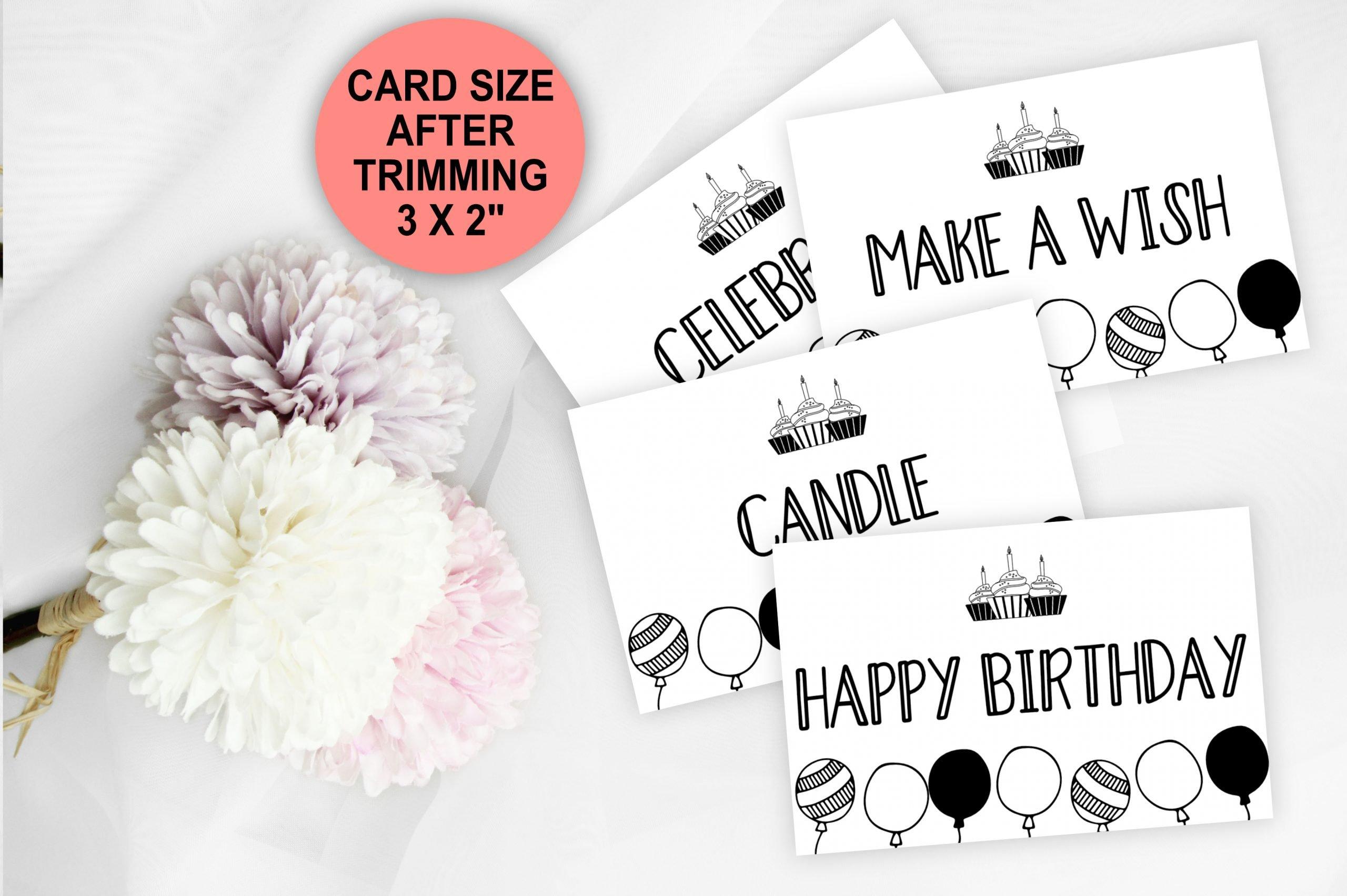 BIRTHDAY GAMES 100 Birthday Party Charades Game Cards bIRTHDAY